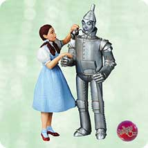 dorothy and tin man